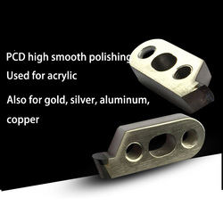 PCD diamond acrylic polishing tool CNC acrylic polishing tool rough tool rough tool knife