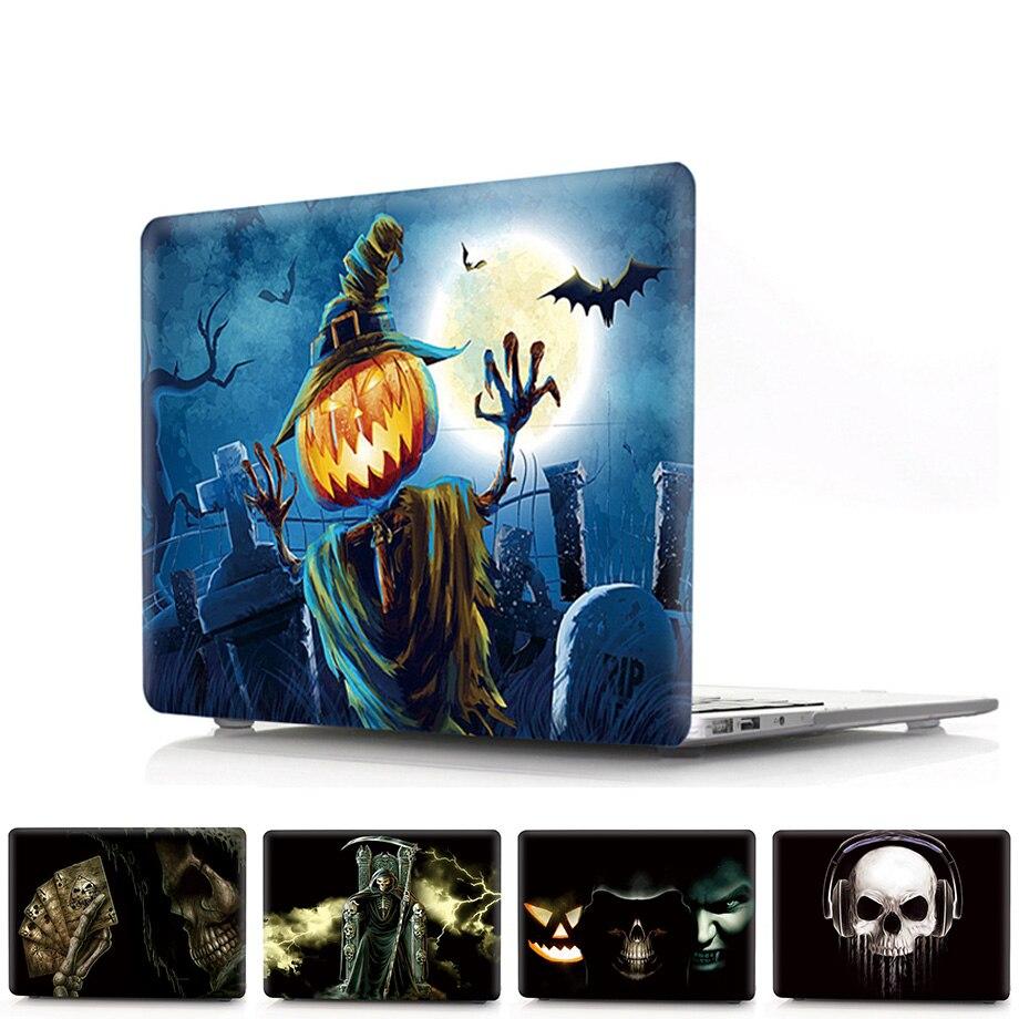 Жесткий Чехол для ноутбука с принтом Хэллоуин для MacBook Air Pro Retina 11 13 15 дюймов чехол для Macbook Air Pro 13 A1932 16 A2141