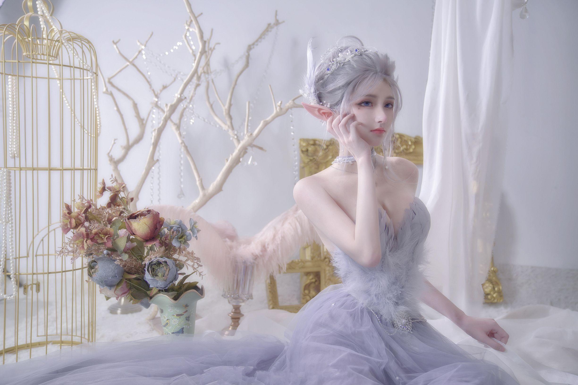 5eea4506b32e1 - 《鬼刀》海琴烟(冰公主) COS:在下萝莉控ii