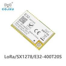 E32 400T20S 433MHz SX1278 לורה אלחוטי מודול 470MHz אלחוטי יציאה טורית UART משדר