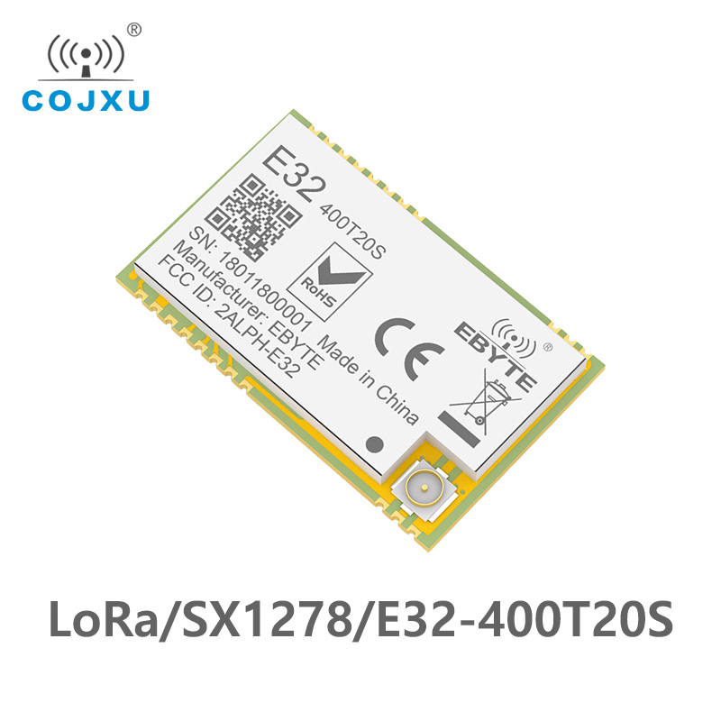 E32-400T20S 433MHz SX1278 LoRa Wireless Module 470MHz Wireless Serial Port UART Transceiver