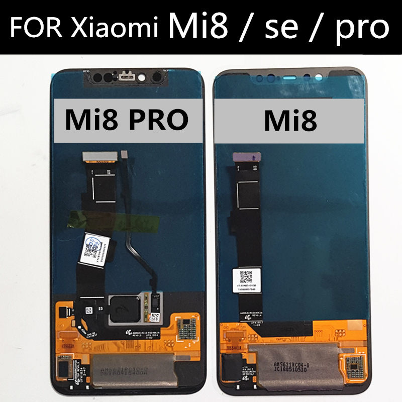 AMOLED LCD For Xiaomi Mi8 SE MI8SE Mi 8 SE PRO Explorer Edition LCD Display+Touch Screen Assembly Replacement