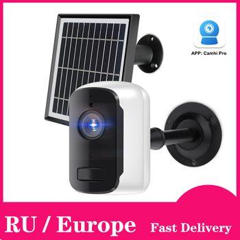 Outdoor IP Camera 1080p HD Battery WiFi Wireless Surveillance Camera 2.0MP Home Security Waterproof PIR Alarm Audio Low Power 1