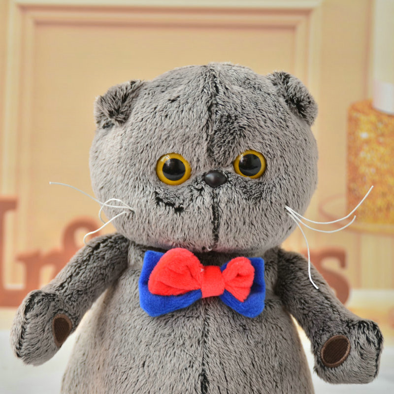 1 Piece 25cm 35cm Simulation Plush Cat Pillow Soft Animal Filled Soft Plush Toy Decoration Cartoon Plush Children's Toy Gift