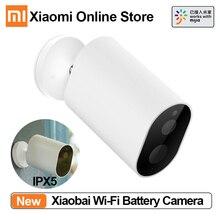 Xiaomi Mijia xiaobay смарт-камера 1080P с батарейным шлюзом слот для sd-карты WiFi AI гуманоидное Обнаружение Беспроводная ip-камера