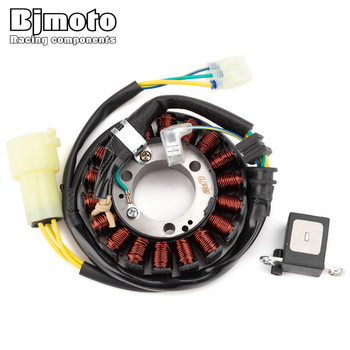 BJMOTO Motorcycle Stator Coil For Honda Sportrax 300 EX TRX300EX 93-08 TRX300X 2009 TRX 300EX 300X 31120-HM3-671 11395-HM3-670