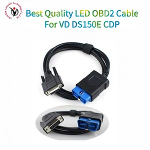 Image 4 - OBDII 16 pin LED cable adecuado para VD DS150E por vd tcs CDP pro OBD2 cable obd 16pin pruebas cable multidiag pro cable