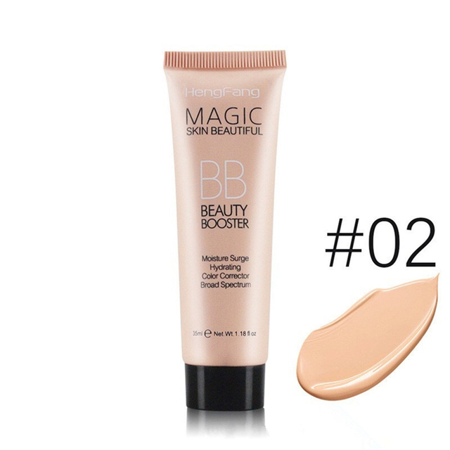 Face Base Foundation Full Cover Makeup BB Cream Waterproof Long Lasting Facial Concealer Brighten Whitening Cream Korean Makeup 2