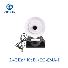 2,4 GHz WIFI Router Antenne für Indoor Directional USB Aircard High Gain RP SMA Weibliche Home Office Hotel Luft Z141 W2G4SRJ10