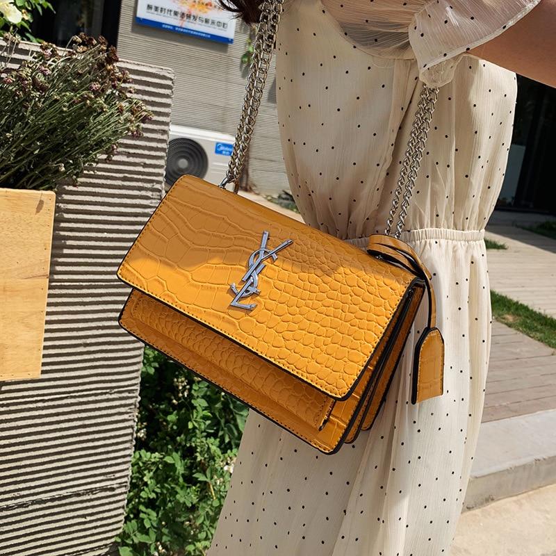 Luxury Ladies Handbag 2019 New Fashion Casual Chain Shoulder Messenger Bag Classic Brand Designer Messenger Bag