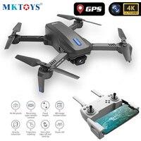 MKTOYS Mini GPS Drone 4K Camera HD Dron FPV Quadcopter seguimi regali di ritorno automatico droni pieghevoli Wifi professionali VS F3 E520S