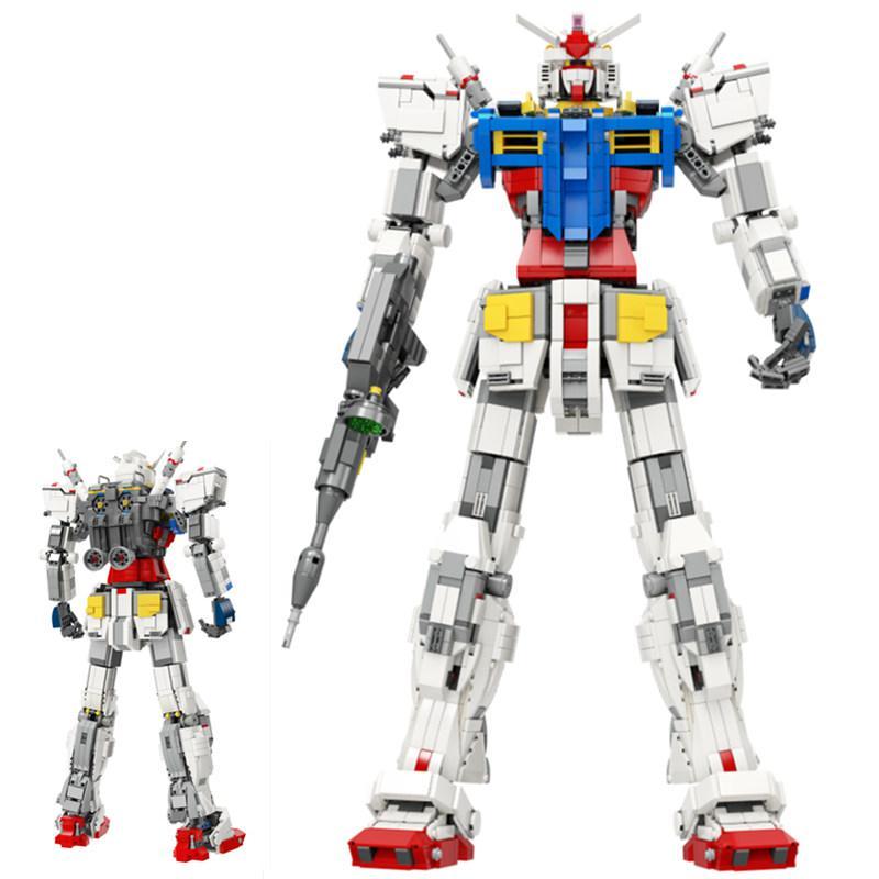 3500 шт Legoinglys voltron супер робот Mecha Classic Gundam Technic модель RX78 2 фиксированный кронштейн 1: 60 строительный блок кирпичные игрушки