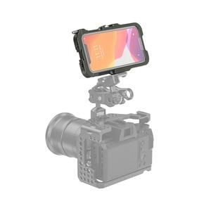 Image 5 - Smallrig Pro Mobiele Kooi Voor Iphone 11 Pro Vlogging Accessoire Mobiele Telefoon Kooi Met Koud Shoe Mount Vlog Schieten Kit  2471