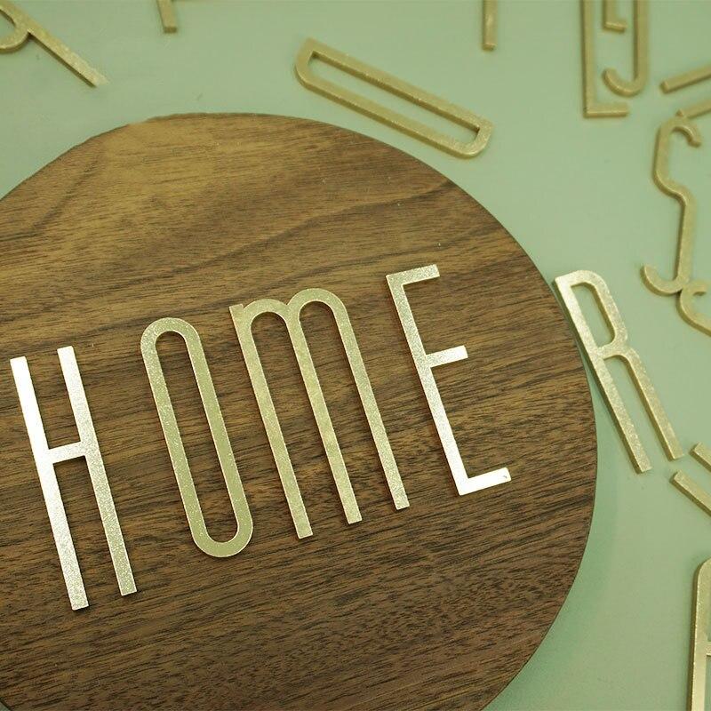 Латунные буквы, Домашний номер, DIY название, Настенная декоративная буква, мастерская, деловое название, знак отеля, компании, латунная буква...