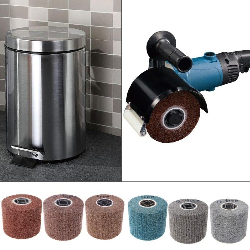 Deburring Abrasive Nylon Drawing Round Brush Polishing Grinding Buffing Wheel Whosale&Dropship
