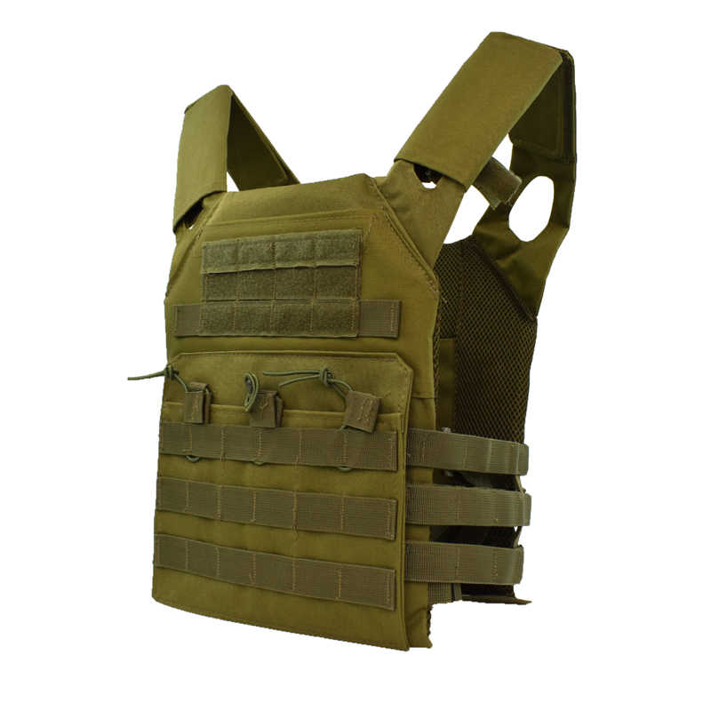 Mężczyźni Outdoor Sport polowanie Airsoft kamizelka taktyczna Molle płyta Carry wojskowa armia kamizelka treningowa kamizelka ochronna Paintball