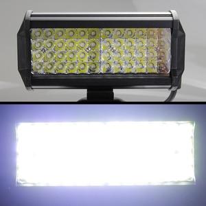 Image 3 - 144W Led Licht Bar arbeit licht für Offroad Traktor Lkw Jeep SUV ATV Boot Bagger 12 24V 4x4 led work flut Combo auto Bar lampe