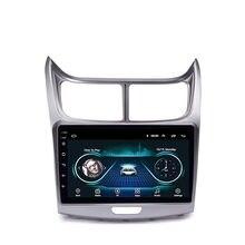 2 Din autoradio Android 8.1 9 pouces écran tactile GPS Navigation lecteur multimédia pour Chevrolet SAil 2010 2011 2012 2013 Headunit