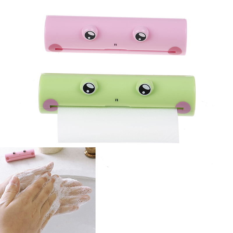 Mini Paper Soap For Outdoor Travel Use Pink /Green With Frog Box Disposable Soap Paper Clean Scented Slice Foaming Box