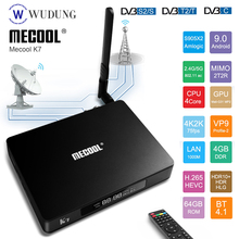 MECOOL K7 Android 9.0 Smart TV Box 4G 64G Amlogic S905X2 DVB