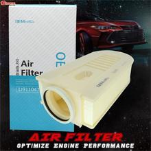 עבור MERCEDES BENZ CLS GLK הכיתה קופה T דגם W212 W204 S204 C204 X204 מנוע צריכת אוויר מסנן אביזרי רכב A6510940004