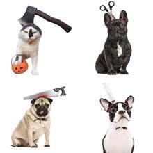 Головные уборы для домашних животных на Хэллоуин аксессуары