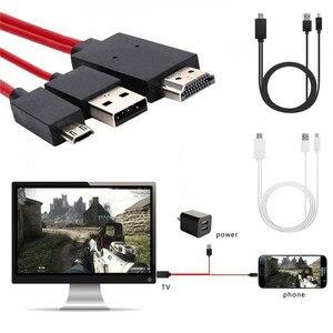 Cable USB HD Micro-USB a HDMI 4K, adaptador AV Digital de HDTV para Acer Aspire R13/V15 s5-391-6419 Nitro para Apple Mac-book