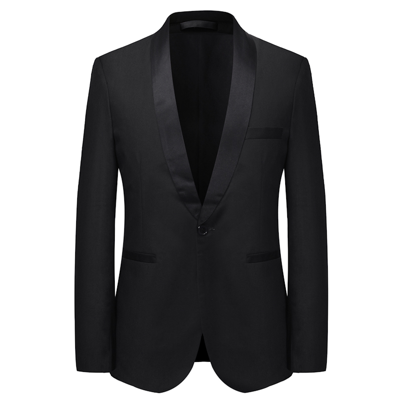 2019 new Men suit jacket Casual Slim Fit Office Suit Autumn Winter Coat Formal Masculina Men's Business Blazers
