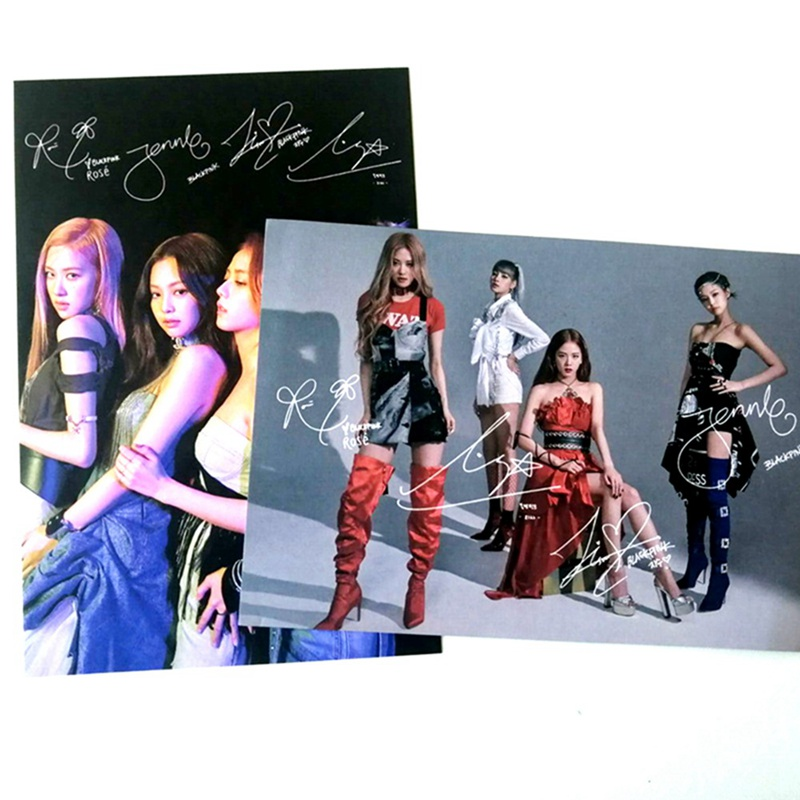 16.9*11.5cm KPOP Blackpink  Ablum Picture Photo Cards LOMO Card Picture Postcard Decoration Stationery Fans Supplies Gift