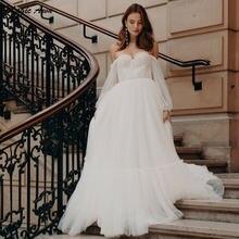 Женское свадебное платье в стиле бохо magic awn с открытыми