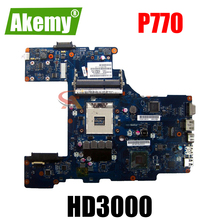 AKEMY LA-7212P K000128610 laptop motherboard for toshiba p770 HM65 GMA HD3000 DDR3 Mainboard Full Tested
