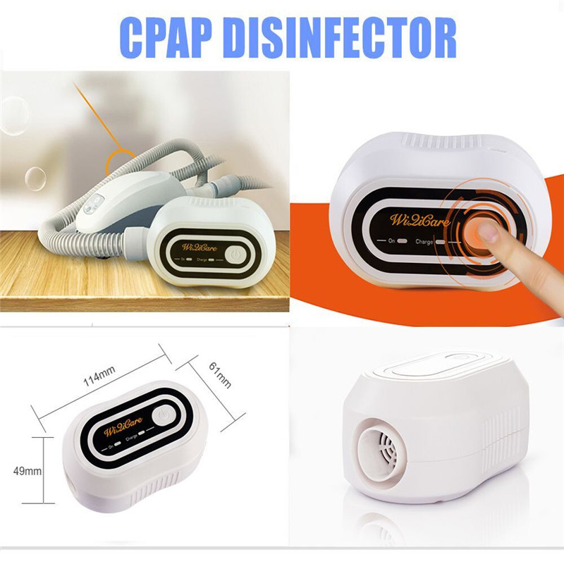 Rechargeable Battery Ventilator Sanitizer CPAP APAP Auto CPAP BPAP Disinfector Sleep Apnea OSAHS OSAS Anti Snoring 2000mAh