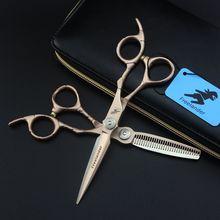 Freelander ножницы для волос набор 6 дюймов 440C Профессиональные Парикмахерские ножницы Парикмахерские филировочные ножницы парикмахерские ножницы стрижка ножницы