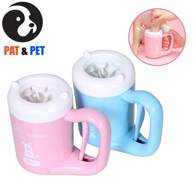 Nettoyeur de patte d'animal familier pour des chiens rondelle de patte pour des chiens, rondelle sale portative de patte pour des chiens, pattes d'animal familier plus propres pour sauver des planchers/meubles