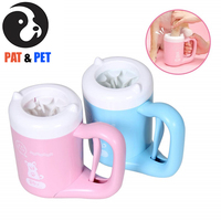 Pet Paw Cleaner for Dogs Paw Washer for Dogs , Portable Dirty Paw Washer for Dogs , Cleaner Pet Paws to Save Floors / Furniture