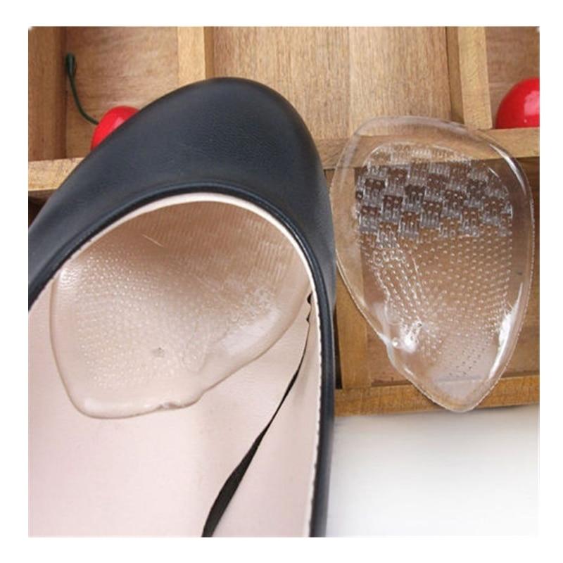 43.49руб. 35% СКИДКА|1 пара, 3/4 гелевые женские стельки для высоких каблуков, плоские стельки, прозрачные мягкие подушечки для обуви, стельки для ухода за ногами|Стельки| |  - AliExpress