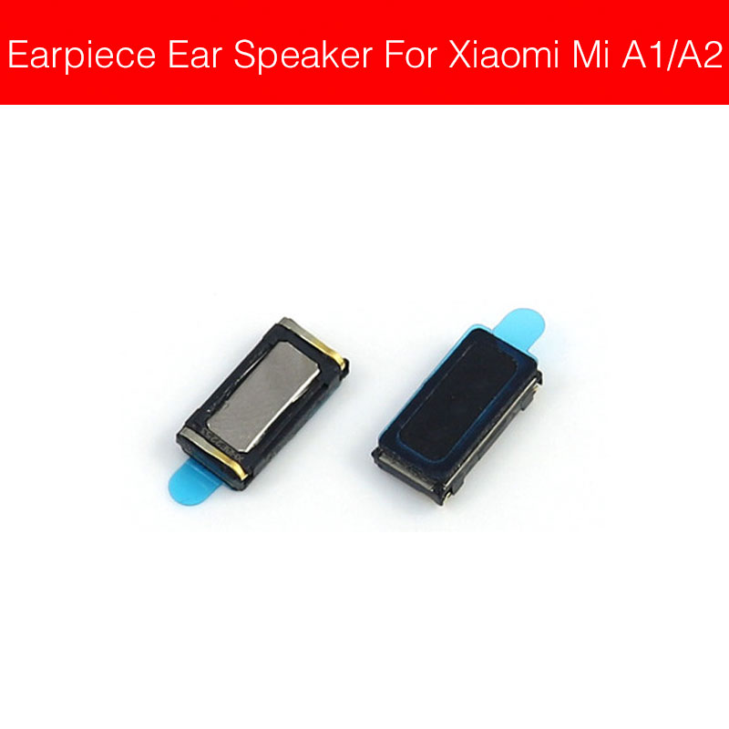 Earpiece Speaker For Xiaomi Mi A1 A2 Pocophone F1 Lite Ear Speaker Sound Earphone Ear Piece Flex  Cable Replacement Repair Parts