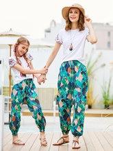 Женские брюки Непальские разноцветные Пляжные штаны для родителей