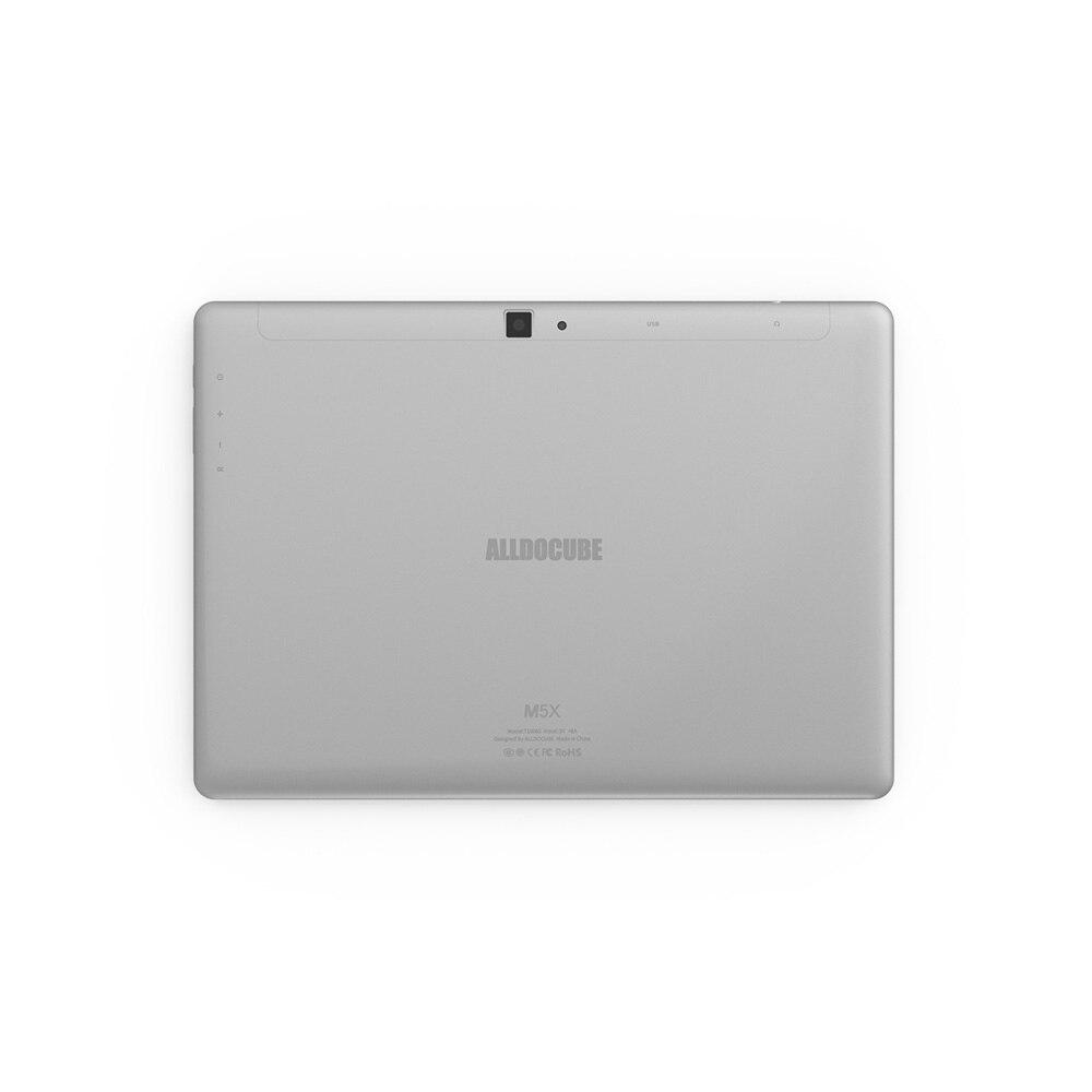 Image 4 - ALLDOCUBE M5X 10.1 cala Tablet Android 8.0 4GB RAM 64GB ROM MTK X27 4G LTE 10 rdzeń telefon tablety PC 2560*1600 IPS prezent dla dzieciTablety Android   -