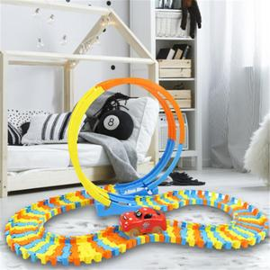 Building Blocks Track Toy DIY