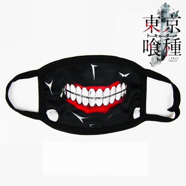 New Unisex Dust Anime Cartoon Cute Mask Cotton Mouth Mask Adjustable Face Masks Exhaust Gas Running Cycling Outdoor Activities 1