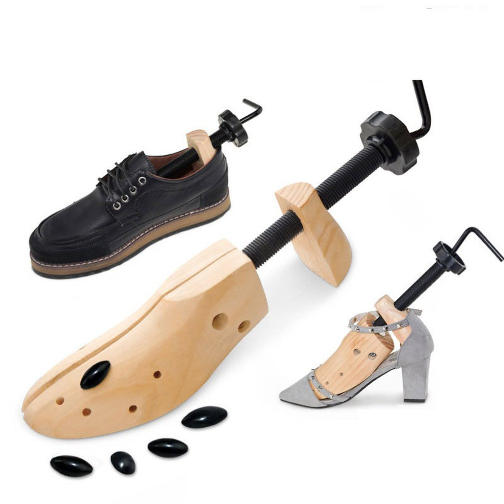 New Wooden Shoe Stretcher Pine Shoe Support Solid Wood Shoe Expander Shoe Last Shoe Expander Daily Tool