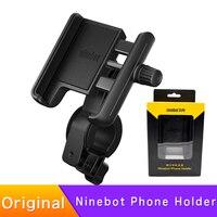 Soporte de teléfono móvil Original para xiaomi MI, patinete eléctrico M365 1S PRO Ninebot KickScooter ES1 ES2 ES4 E25 MAX G30