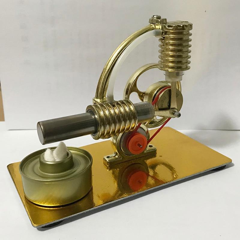 mini motor stirling mini vapor energia fisica 01