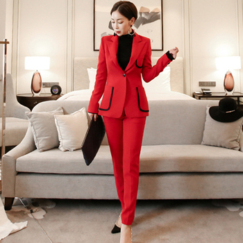 Womens Two-Piece Formal Pantsuits