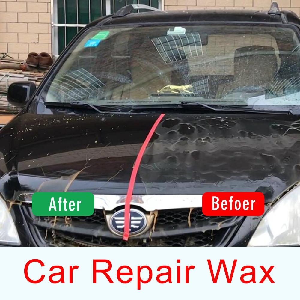 Автомобильный ремонтный воск, блеск, восстановление, уход за царапинами, Ремонтный воск, инструменты для ухода за автомобилем, ремонт царапин, обслуживание, Восковая краска, покрытие поверхности