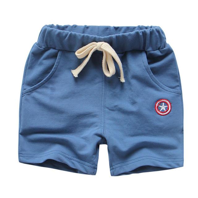 Beach Pants Solid Color Fashion Kids