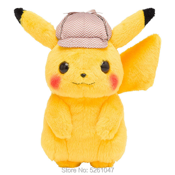 Original Pocket Monster Pikachu Plush Doll Stuffed Animal Toy Cute Figure 22cm Kid Gift