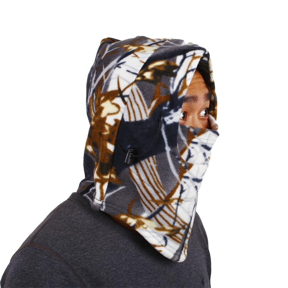 Full Package Camouflage Riding Hunting Warm Headgear Warm Riding Mask, Winter Cold And Windproof Ski Mask, Masked Bicycle Helmet