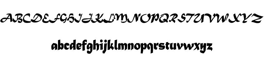 8 Matura MT font